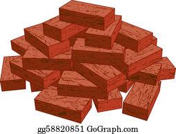 Bricks Clip Art.