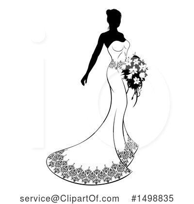 Bride Clipart #1498835.