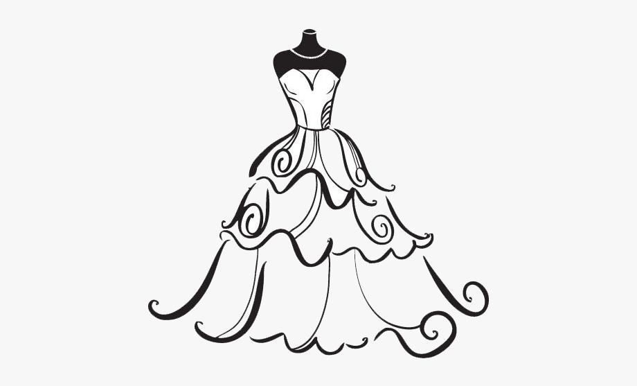 Bridal Clipart Wedding Artwork.
