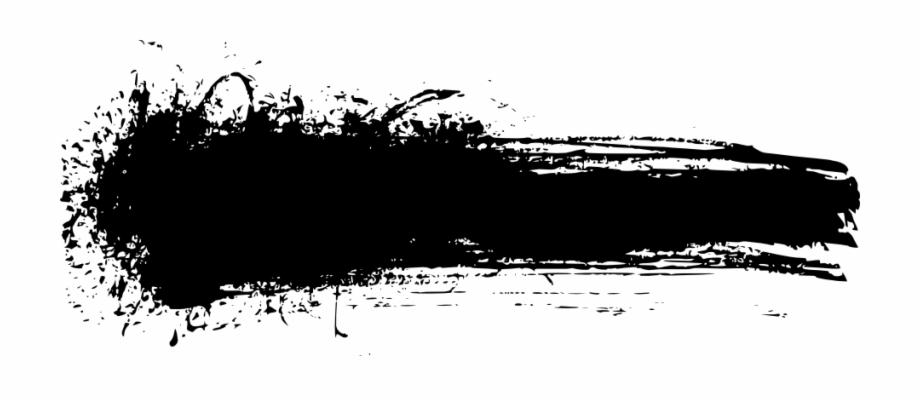 Grunge Brush Stroke Png, Transparent Png Download For Free #1168139.