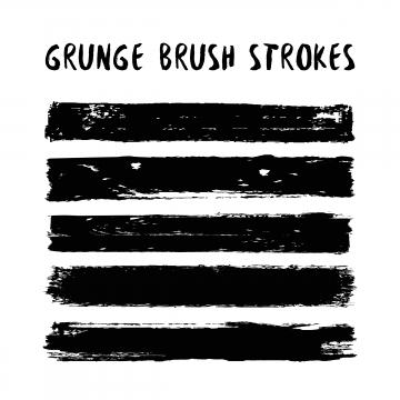 Grunge Brush PNG Images.