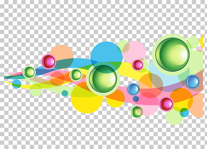 Light Desktop Circle , Free bubble buckle elements PNG.