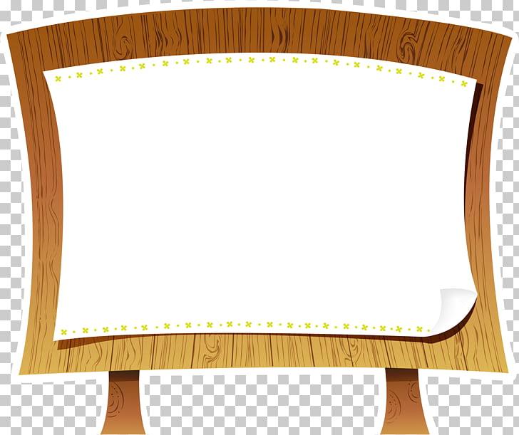 Cartoon, Wood Bulletin Board PNG clipart.