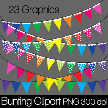 Bunting/Banners Clip Art for FREE.