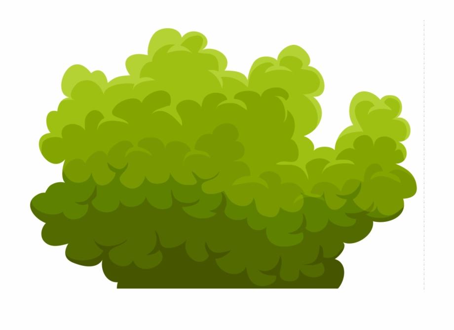 Green Bush Cliparts.