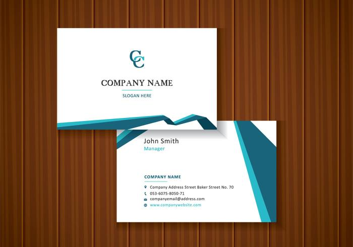 Free Abstract Business Cards.