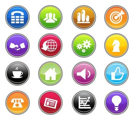 Free Business Iconss Clipart and Vector Graphics.