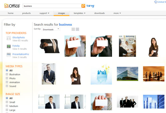 Free HD Business Cliparts for Presentations.