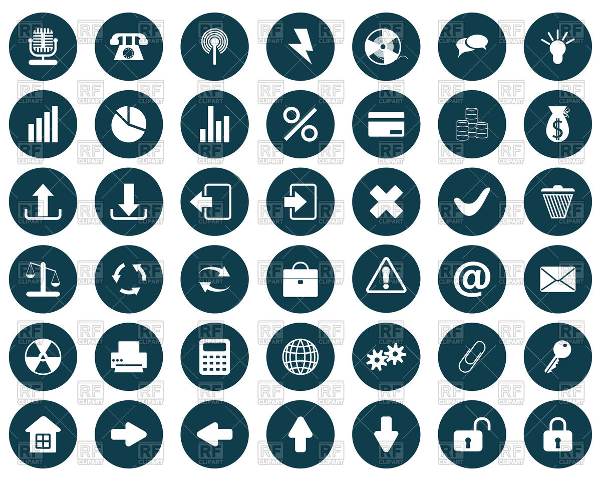 Business Icon Clipart Free.