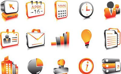Free Business icons Clipart and Vector Graphics.