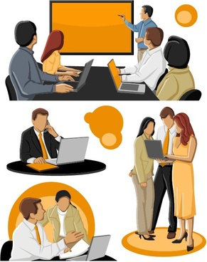 Business people clip art free vector download (222,195 Free vector.