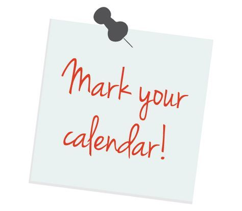 Mark Your Calendar Clipart Free Clip Art Images.