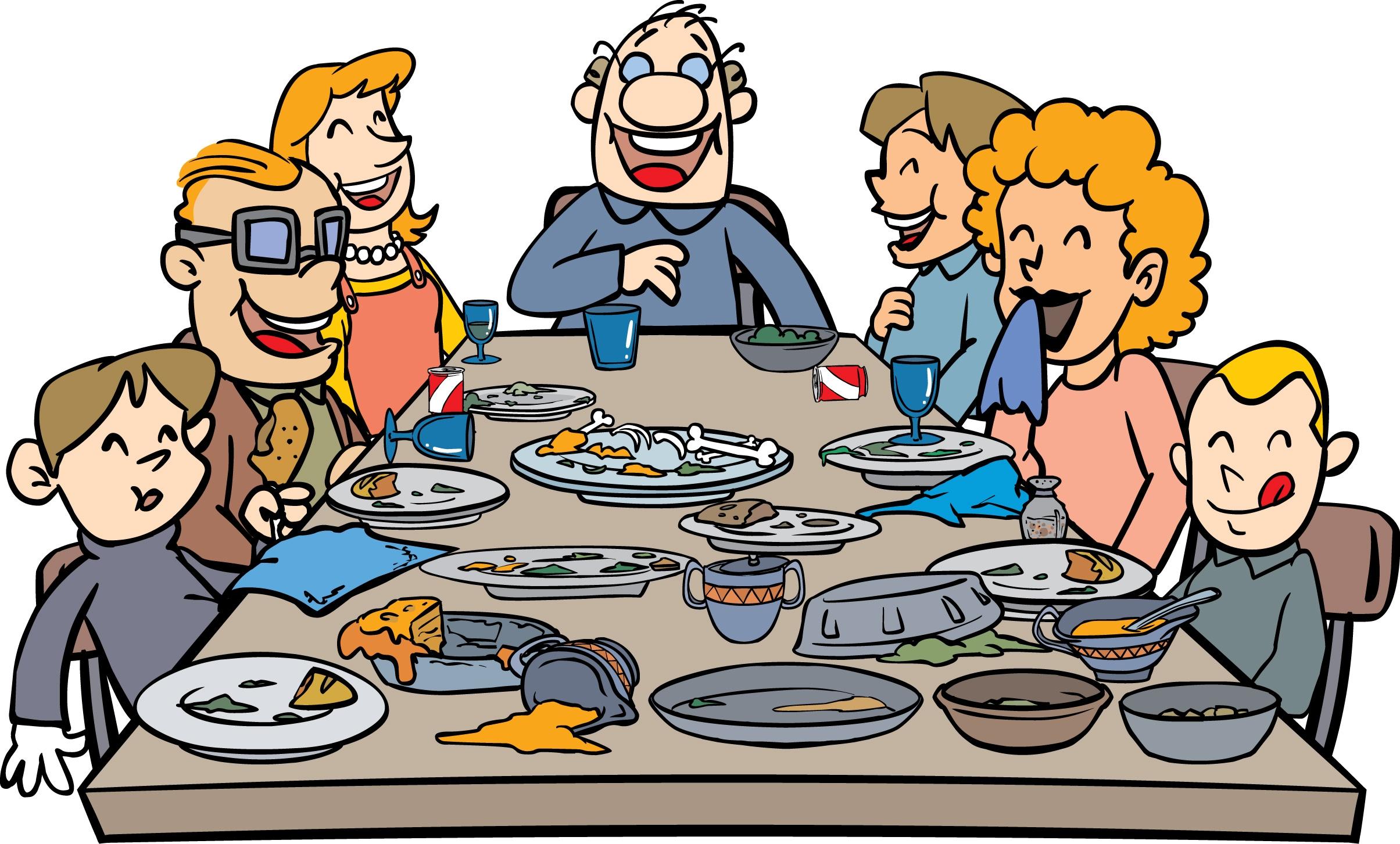 Free Calendar Clipart Thanksgiving Family.