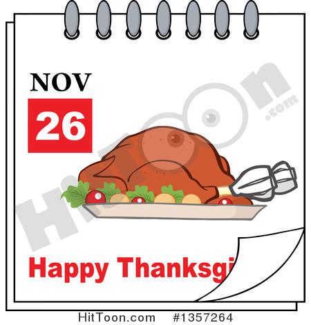 Free calendar clipart thanksgiving.