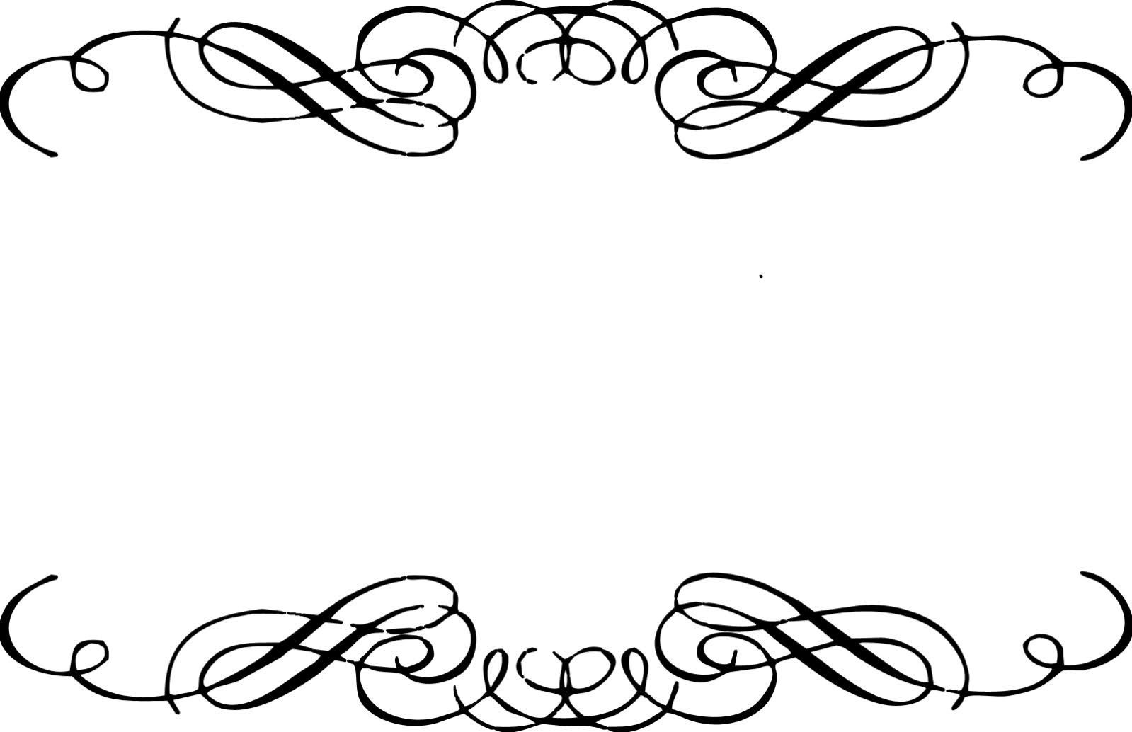 Free calligraphy swirls clipart 5 » Clipart Portal.