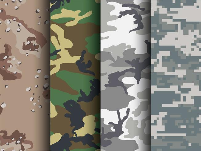 Free Camouflage Patterns for Illustrator & Photoshop.