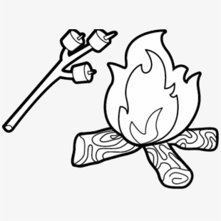 Camping Black And White Cliparts & Cartoons For Free.