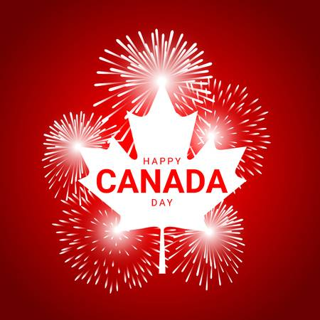 220 Fireworks Canada Day Stock Vector Illustration And Royalty Free.