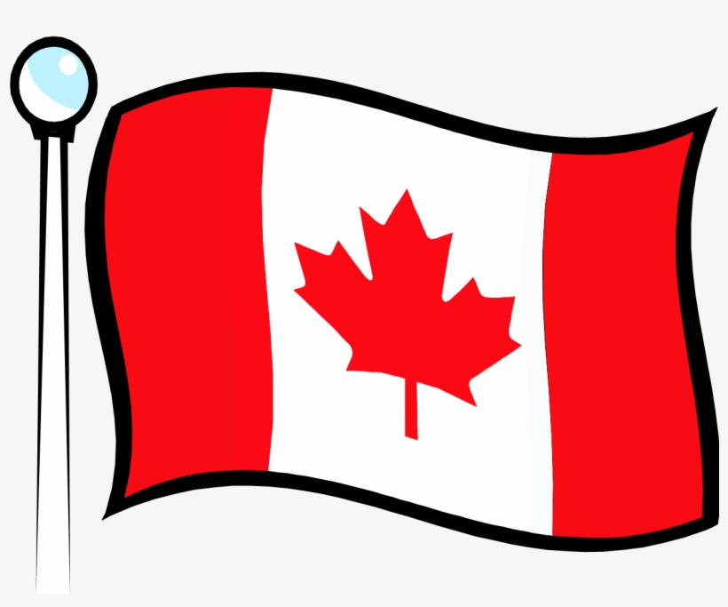 free canada flag clipart #2