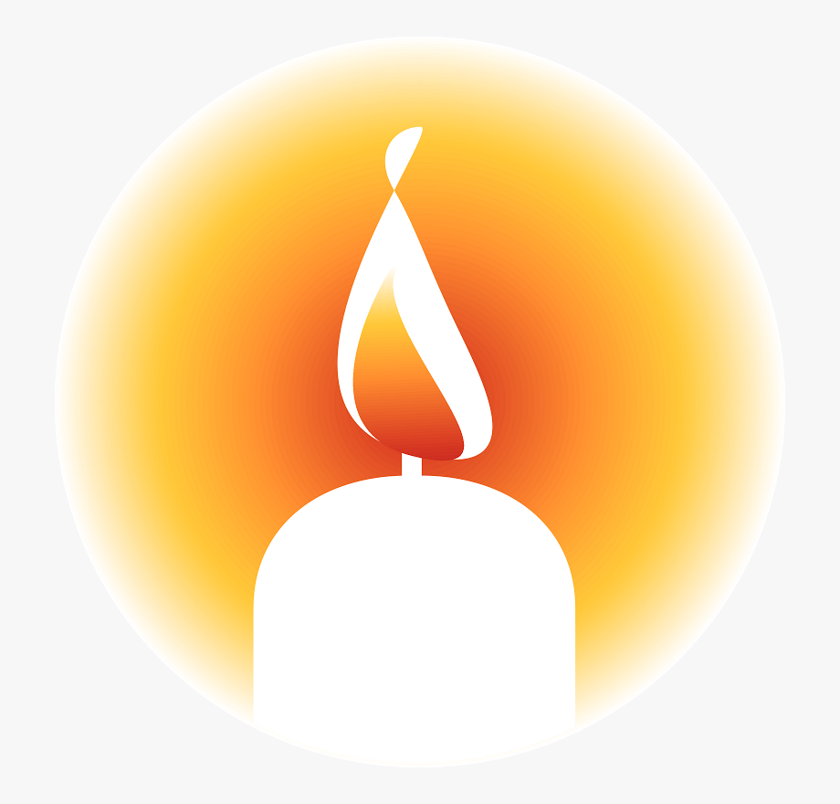 Candle Flame Clipart.