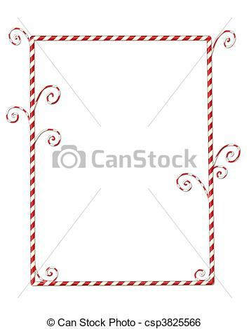 Candy cane clipart border free 4 » Clipart Portal.