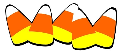 Candy corn border clip art free clipart images 9.