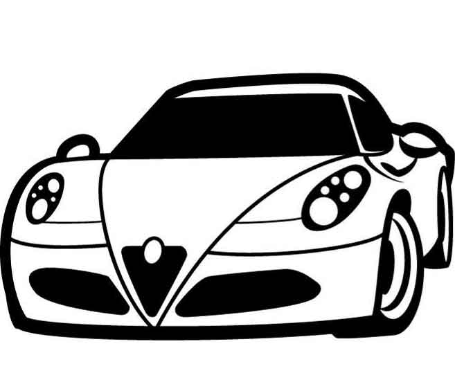 free car clipart black and white 20 free Cliparts ...