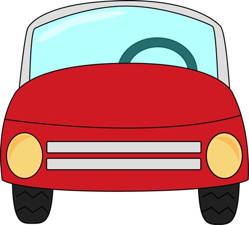 Free Black And White Clipart Of Car Rider For Teachers.