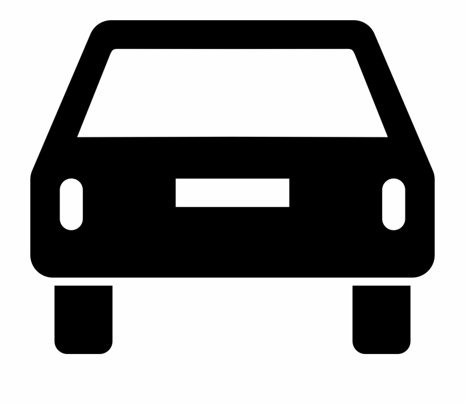 This Free Icons Png Design Of Car Pictogram Rear.