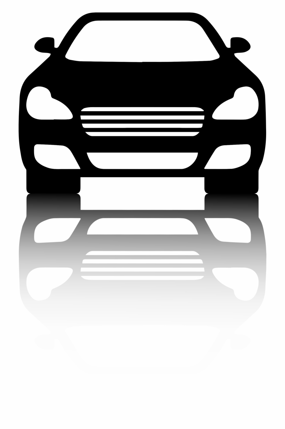 This Free Icons Png Design Of Black Car Front View.