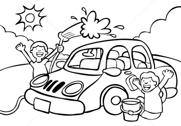 Free Car Wash Clipart Pictures.