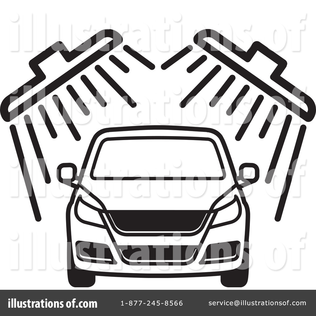 free car wash clipart black and white clipground