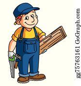 Carpenter Clip Art.