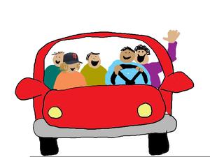 Clipart Carpool.