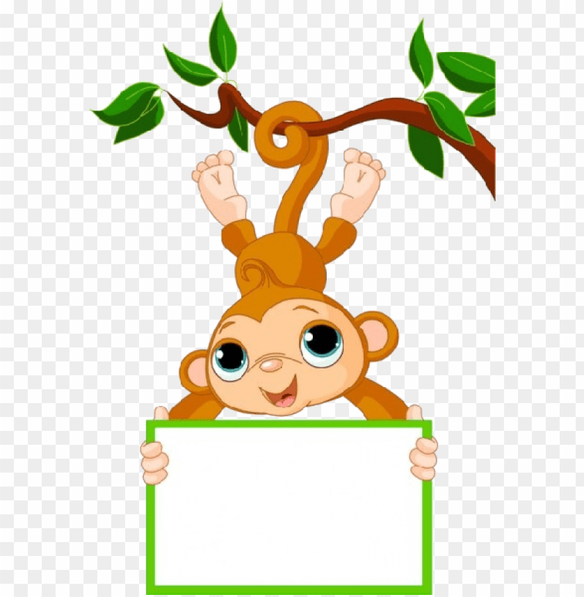 cute funny cartoon baby monkey clip art images.