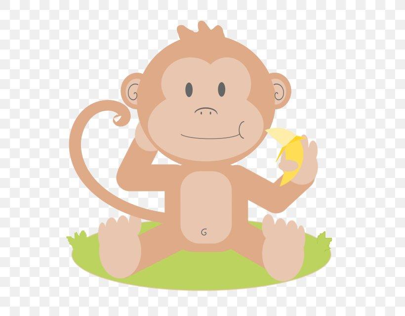 Baby Monkeys Primate Clip Art, PNG, 566x639px, Baby Monkeys.