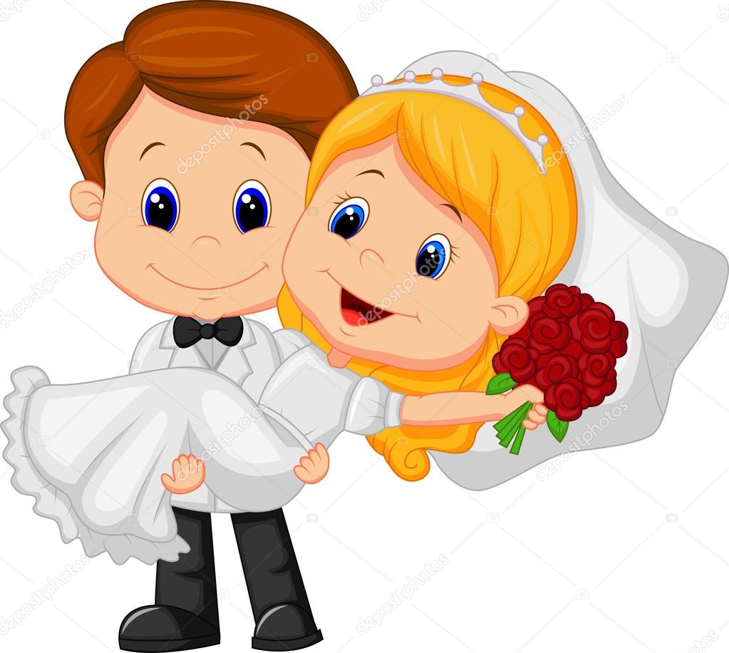 free cartoon bride and groom clipart 20 free Cliparts ...