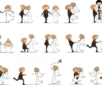 Showing post & media for Cartoon bride clipart.