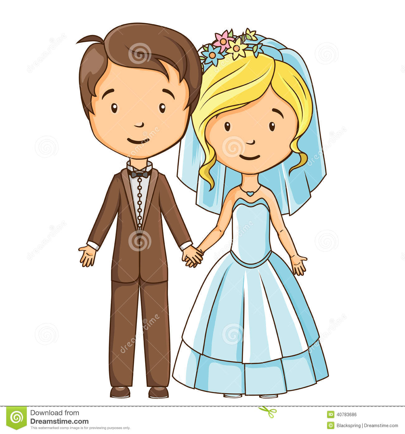 Showing post & media for Cartoon bride and bride groom.
