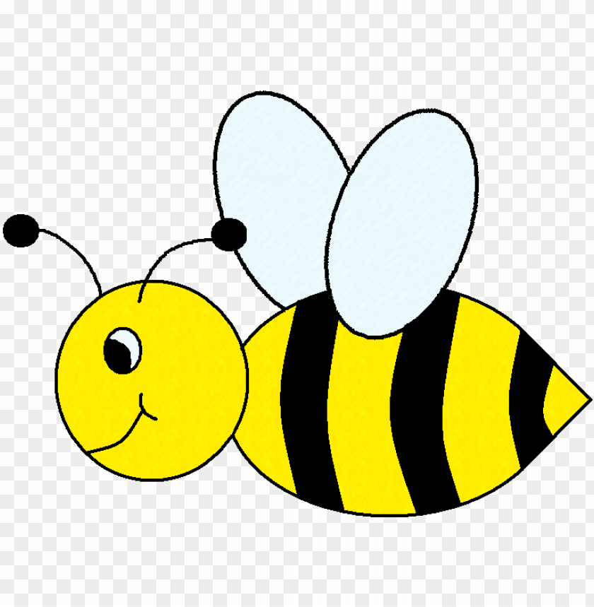 bumble bee clipart PNG image with transparent background.