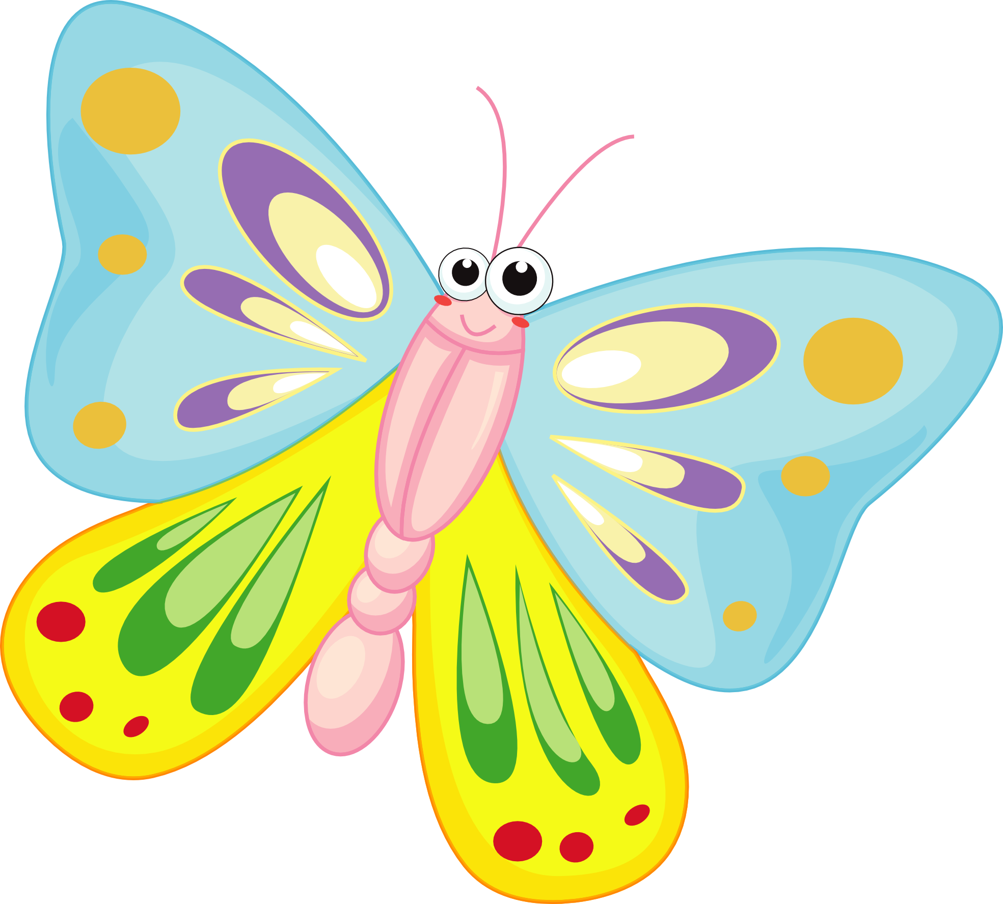 Cartoon Butterfly Images.