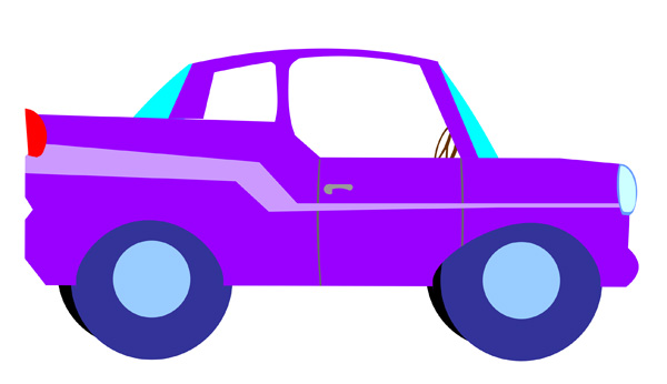Cartoon Cars Clip Art.