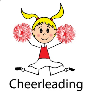 Free Cartoon Cheerleader Clipart Images.