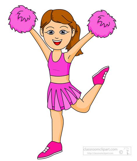 Cartoon pictures of cheerleaders