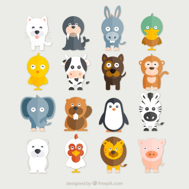 Animals vectors, +10,700 free files in .AI, .EPS format.