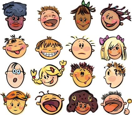 Funny cartoon clip art free vector download (221,932 Free vector.