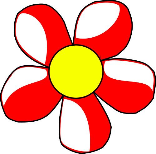 Free Clipart Cartoon Flowers.