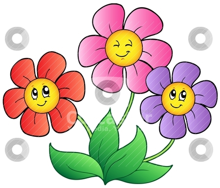 Flower Cartoon Clip Art.