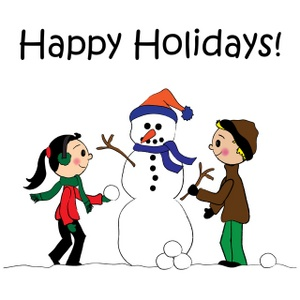 Showing post & media for Cartoon happy holiday clip art.