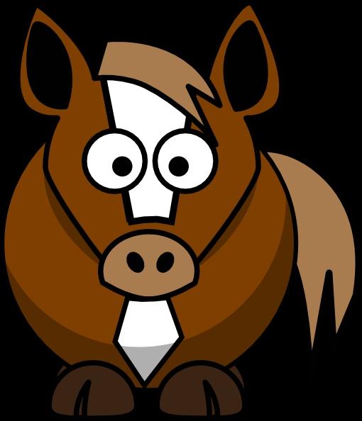 Cartoon Horse Clipart#2134406.
